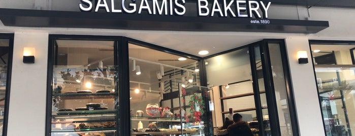 Salgamis Bakery is one of Alexandropoulis.