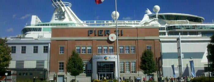 Pier 21 is one of Halifax.