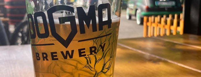 Dogma Brewery is one of Craft Beers of Serbia.