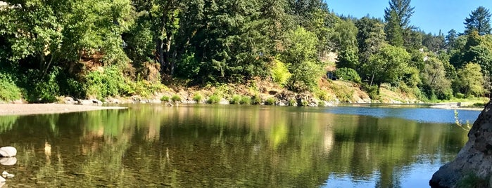 Sandy Swimming Hole is one of Portland.