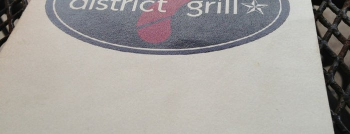 District 7 Grill is one of Top restaurants in EaDo.
