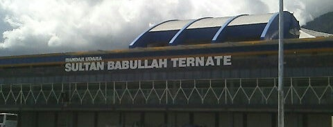 Bandara Sultan Babullah (TTE) is one of Locais curtidos por Philjeuwbens Aditya.