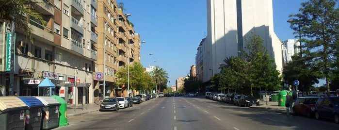 Avenida de Baleares is one of Frases.
