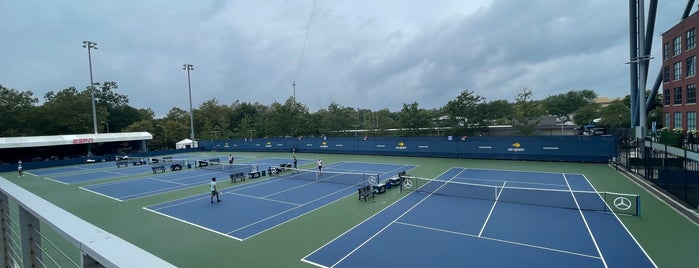 Practice Courts (1-5) - USTA Billie Jean King National Tennis Center is one of Must-visit Stadiums in Flushing.