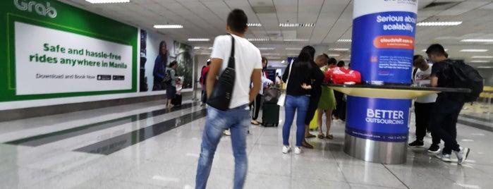 Naia Terminal 3 Immigration is one of Orte, die Shank gefallen.