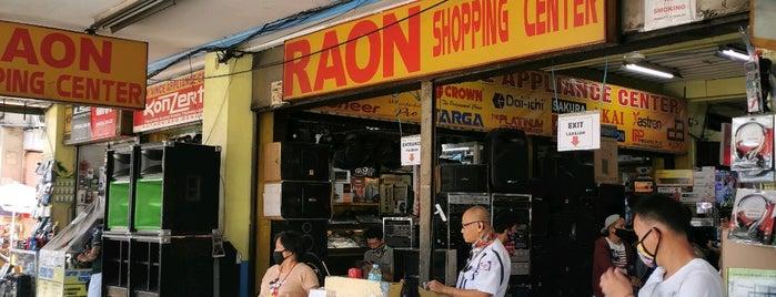 Raon Shopping Center is one of Shank 님이 좋아한 장소.