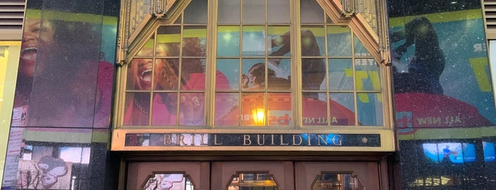 The Brill Building is one of New York Cinema.