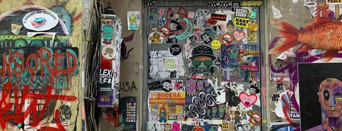 Freeman Alley is one of NewYork.