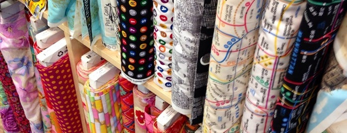 The City Quilter is one of Manhattan - Go Explore Your City.