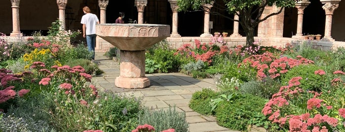 The Cloisters Garden is one of Week NYC.