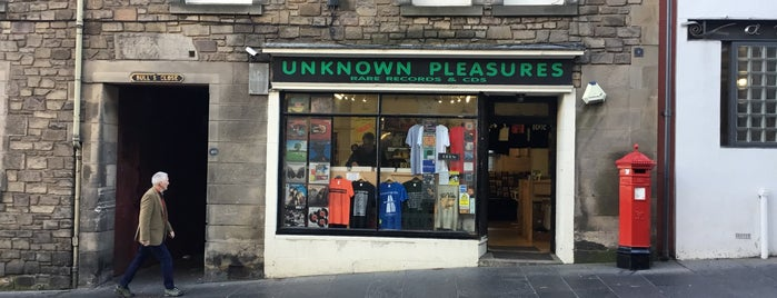 Unknown Pleasures is one of Edinburgh.