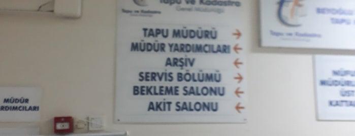 Beyoğlu Kaymakamlığı is one of MEHMET YUSUF : понравившиеся места.
