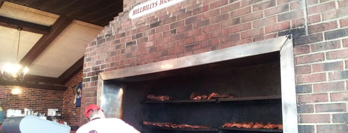 Hillbilly's Barbeque & Steaks is one of Gaston County Favorites.