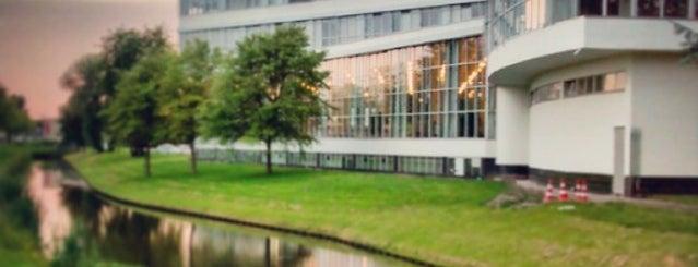 Van Nelle Fabriek is one of Dutch World Heritage sites.