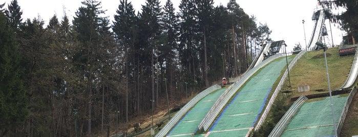Skakalnice Mostec - Ski Jump is one of Slovénie.