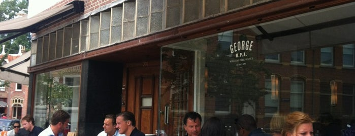 George W.P.A. is one of My Amsterdam indulgences....