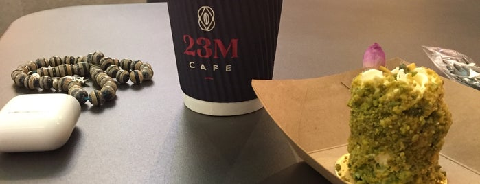 23M Cafe is one of Coffee shops ( need to try).