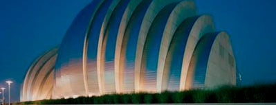 Kauffman Center for the Performing Arts is one of Kansas City.