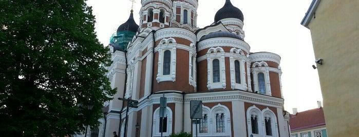 Alexander Nevski Cemetery is one of Tallin.
