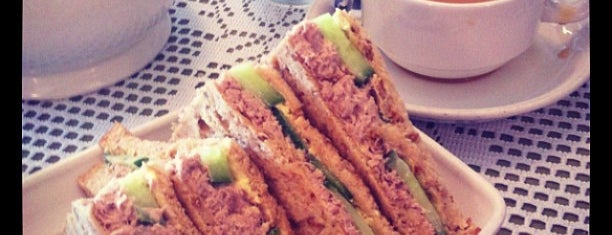 Auntie's Tea Shop is one of Foodie's Favourites.