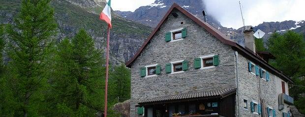 rifugio CAI Castiglioni, alpe Devero is one of Action: Consulenza Marketing per l'Hotellerie.