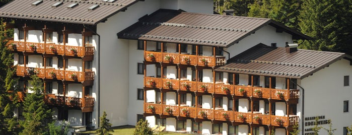 Residence Chalet Edelweiss is one of Action: Consulenza Marketing per l'Hotellerie.