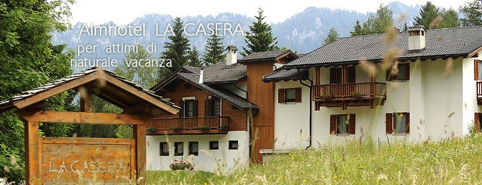 Almhotel La Casera is one of Action: Consulenza Marketing per l'Hotellerie.