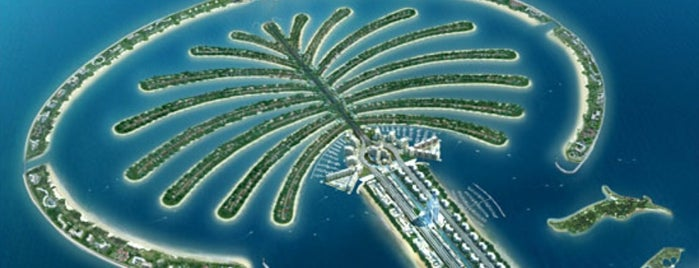 Palm Jumeirah is one of #myhints4Dubai.
