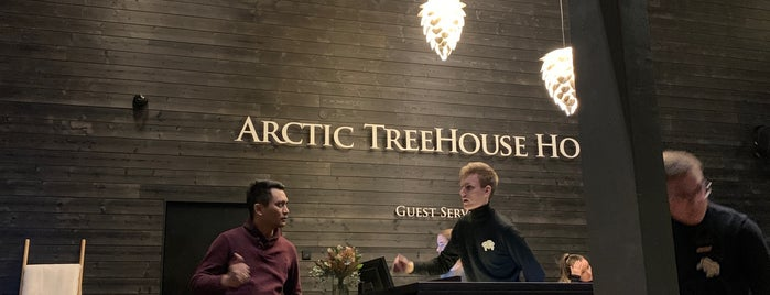 Arctic TreeHouse Hotel is one of Nordic countries.