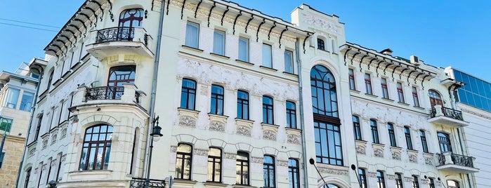 Доходный дом Г.Е.Бройдо is one of Интересная Москва.