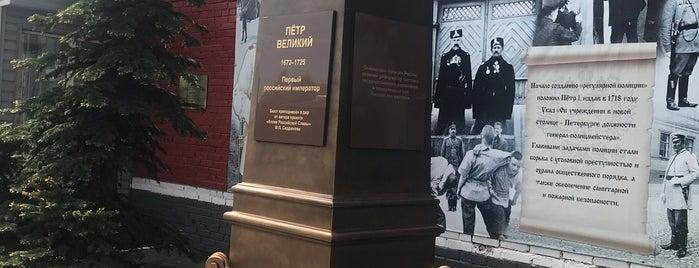 Памятник Петру I - основателю полиции России is one of สถานที่ที่ Roman ถูกใจ.