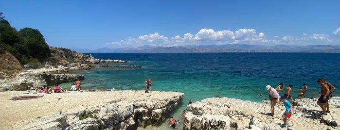 Kanoni Beach is one of Corfu, Greece.