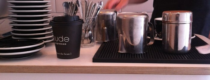 GuardianCoffee by Nude Espresso is one of London.