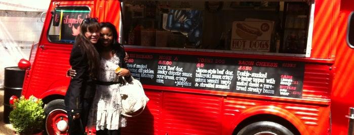 Engine Hotdogs is one of Restaurants.