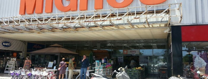 Migros is one of Marmaris.