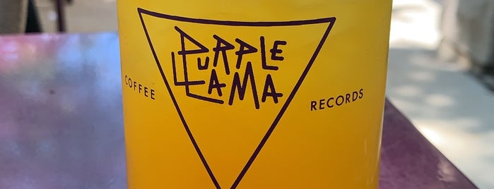 Purple Llama Coffee & Records is one of My Favorite Coffe Shops - Chicago.