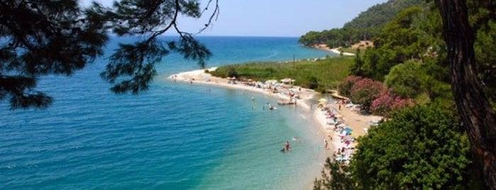Akyaka Plajı is one of marmaris.