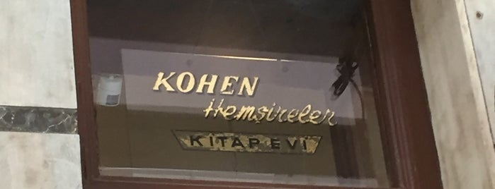 Kohen Kitap Evi is one of Coffee Shop.