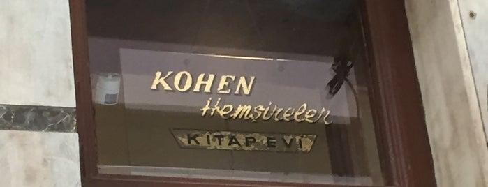 Kohen Kitap Evi is one of Tempat yang Disimpan Ceren.