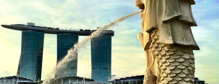 The Merlion is one of My Singapore & JB Holiday.