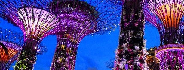 Gardens by the Bay is one of Singapore.