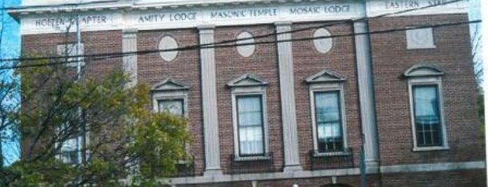 Danvers Masonic Building is one of Massachusetts Masonic Lodges.