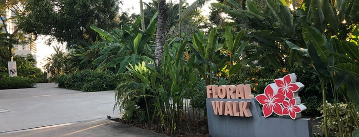 Flora Walk is one of Singapore 2019.