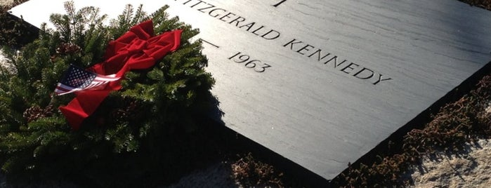 John F. Kennedy Eternal Flame is one of Trips / Washington, DC.