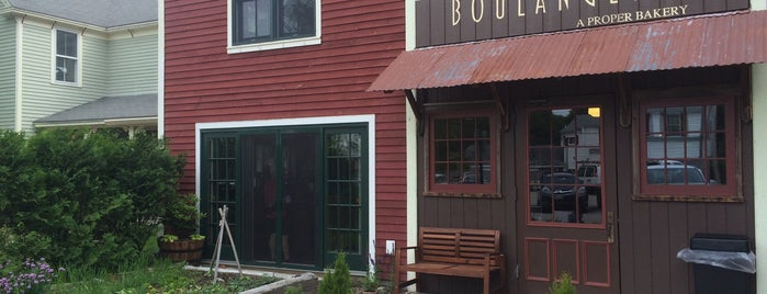 Boulangerie - A Proper Bakery is one of Southern Maine Favorites.