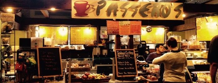 Passero's Gourmet Coffee is one of Philly coffee places.