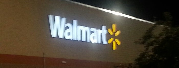 Walmart Supercenter is one of Work Locations.