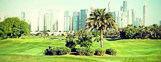 The Montgomerie Golf Club is one of Dubai's must places.