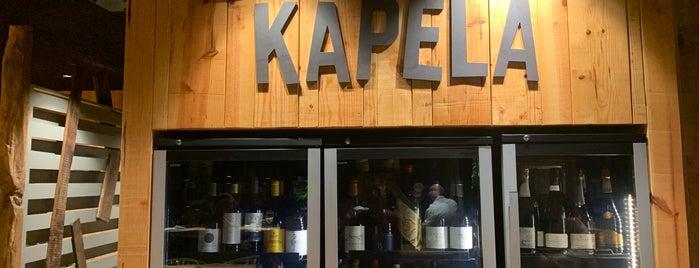 Kapela is one of Restaurantes.