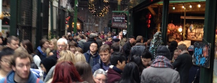 Borough Market is one of Holger's favorite spots in London.